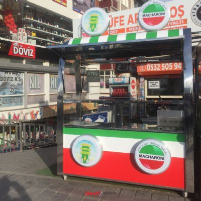 Outside Pasta - Egyptian Stand