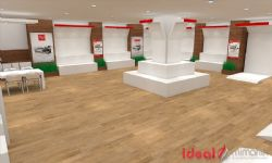 Sengun Machine Showroom Design