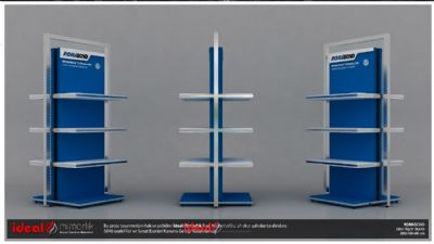 Roma Plastic - Product Display Stand